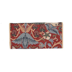 William Morris Strawberry Thief Red Envelope Purse | Ladies Purse Wallet | ENVE-STRD