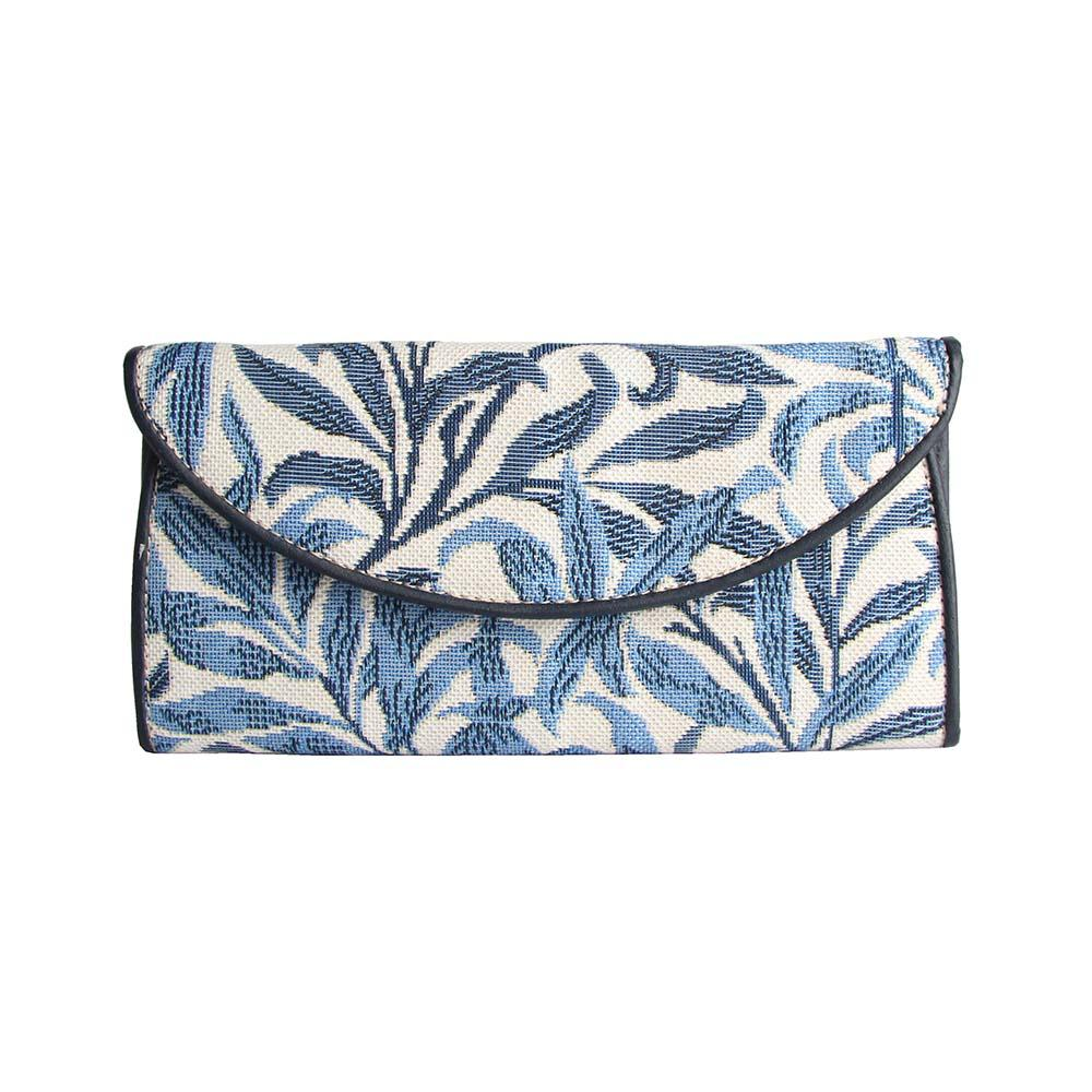 William Morris Willow Bough Envelope Purse | Blue Ladies Purse Wallet | ENVE-WIOW