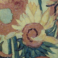 Wall Hanging-Van Gogh Sun Flower | Sunflowers Tapestry, Van Gogh Wall Tapestries