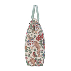 Alice in Wonderland Foldaway Shopping Bags | Tapestry Foldable Tote Bag | FDAW-ALICE