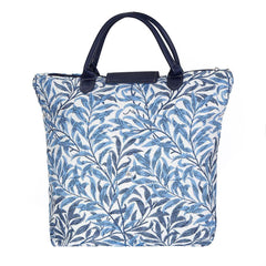 William Morris Willow Bough Foldaway Shopping Bag | Blue Foldable Bags | FDAW-WIOW