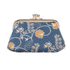 Jane Austen Blue Frame Purse | Blue Coin Purse | FRMP-AUST