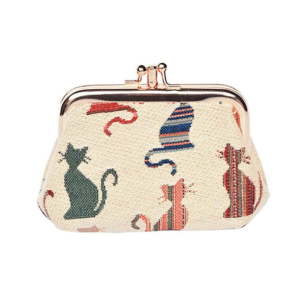Cheeky Cat Frame Purse | Coin Purse UK | FRMP-CHEKY