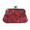 Mackintosh Rose and Teardrop Frame Purse | Floral Tapestry Coin Purse | FRMP-RMTD