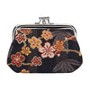 Ume Sakura Frame Purse | Floral Black Coin Purse | FRMP-SAKURA