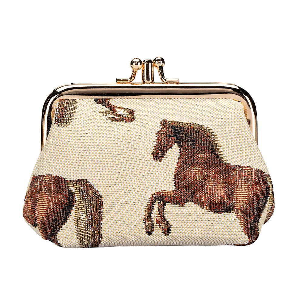 Whistlejacket Frame Purse | Horse Design Coin Purse | FRMP-WHISTLE