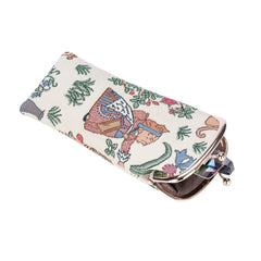 Alice in Wonderland Glasses Pouch | Cute Glasses Case | GPCH-ALICE