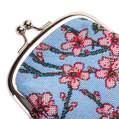 Almond Blossom and Swallow Glasses Pouch | Floral Glasses Cases UK | GPCH-BLOS
