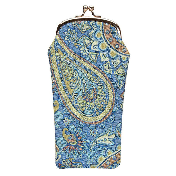 Paisley Glasses Pouch | Floral Tapestry Glasses Case | GPCH-PAIS
