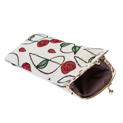 Mackintosh Rose Glasses Pouch | Floral Glasses Case | GPCH-RMSP