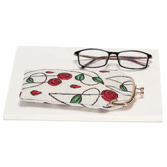 Mackintosh Rose Glasses Pouch | Floral Tapestry Glasses Case | GPCH-RMSP