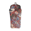 William Morris Strawberry Thief Red Glasses Pouch | Red Floral Glasses Case | GPCH-STRD