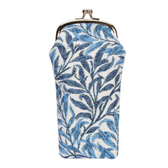 William Morris Willow Bough Glasses Pouch | Blue Tapestry Glasses Case | GPCH-WIOW