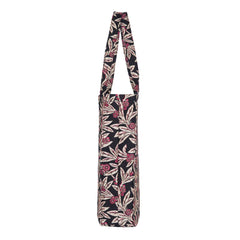 Golden Fern Gusset Bag | Floral Foldable Shopping Bag | GUSS-GFERN