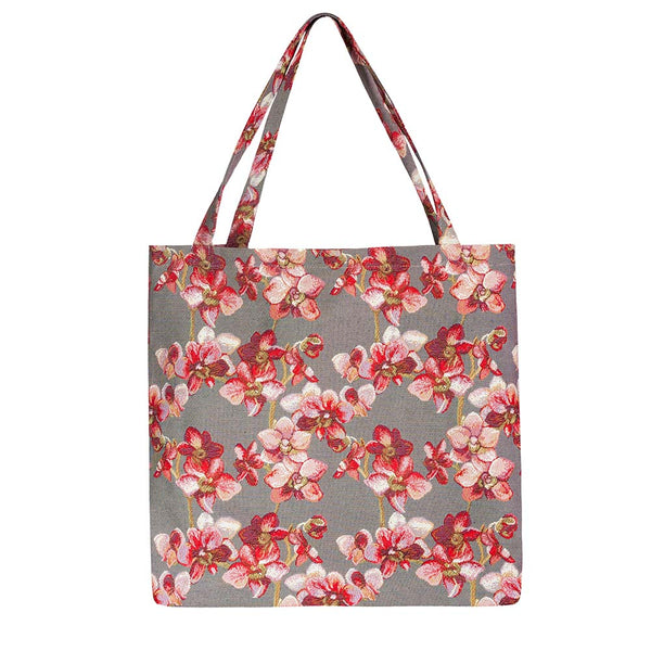 Orchid Gusset Bag | Stylish Foldable Shopping Bag | GUSS-ORC