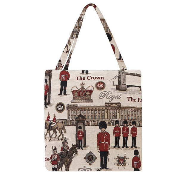 Royal Guard Gusset Bag | Stylish Foldable Shopping Bag | GUSS-RGD