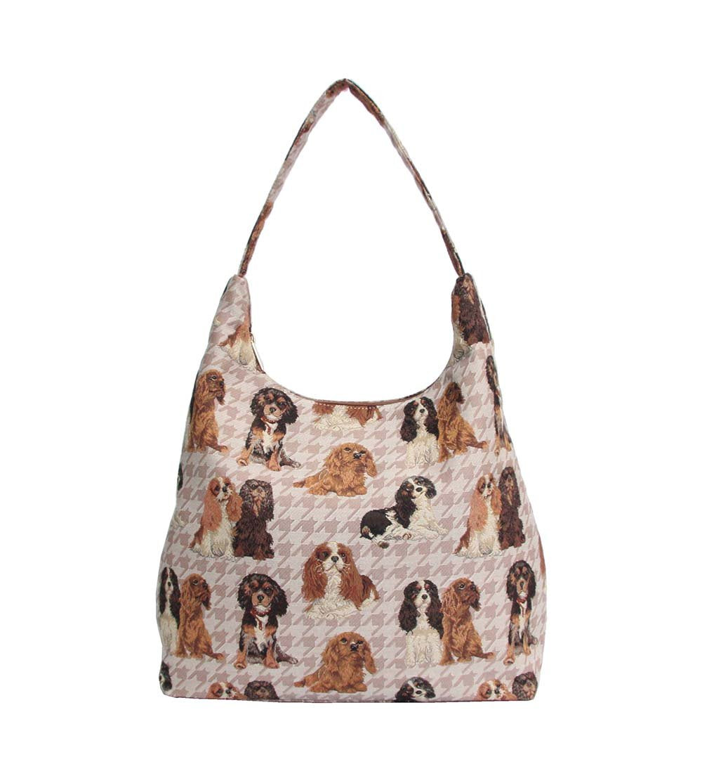 Cavalier Hobo Bag | Womens Large Brown Shoulder Bag | HOBO-KGCS