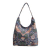 William Morris Strawberry Thief Blue Hobo Bag | Womens Large Art Shoulder Bag | HOBO-STBL