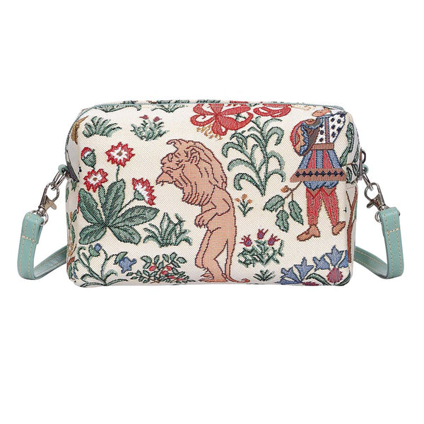 Alice in Wonderland Hip Bag | Designer Art Unusual Tapestry Shoulder Side Handbag | HPBG-ALICE