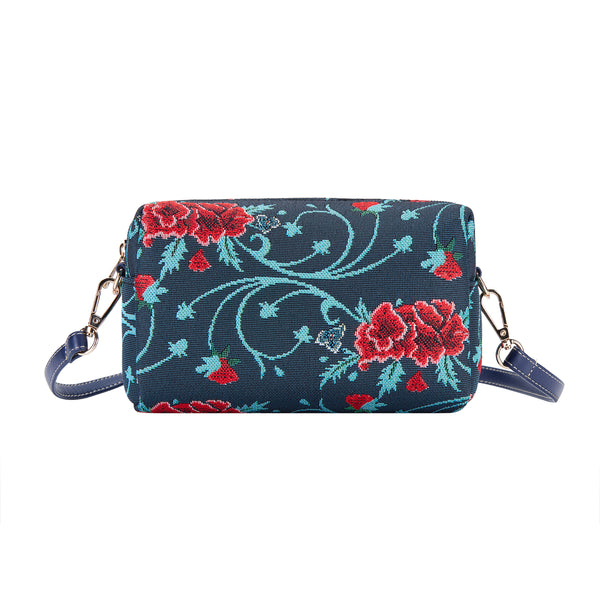 Frida Kahlo Carnation Hip Bag | Tapestry Cross Shoulder Bag  | HPBG-FKCARN