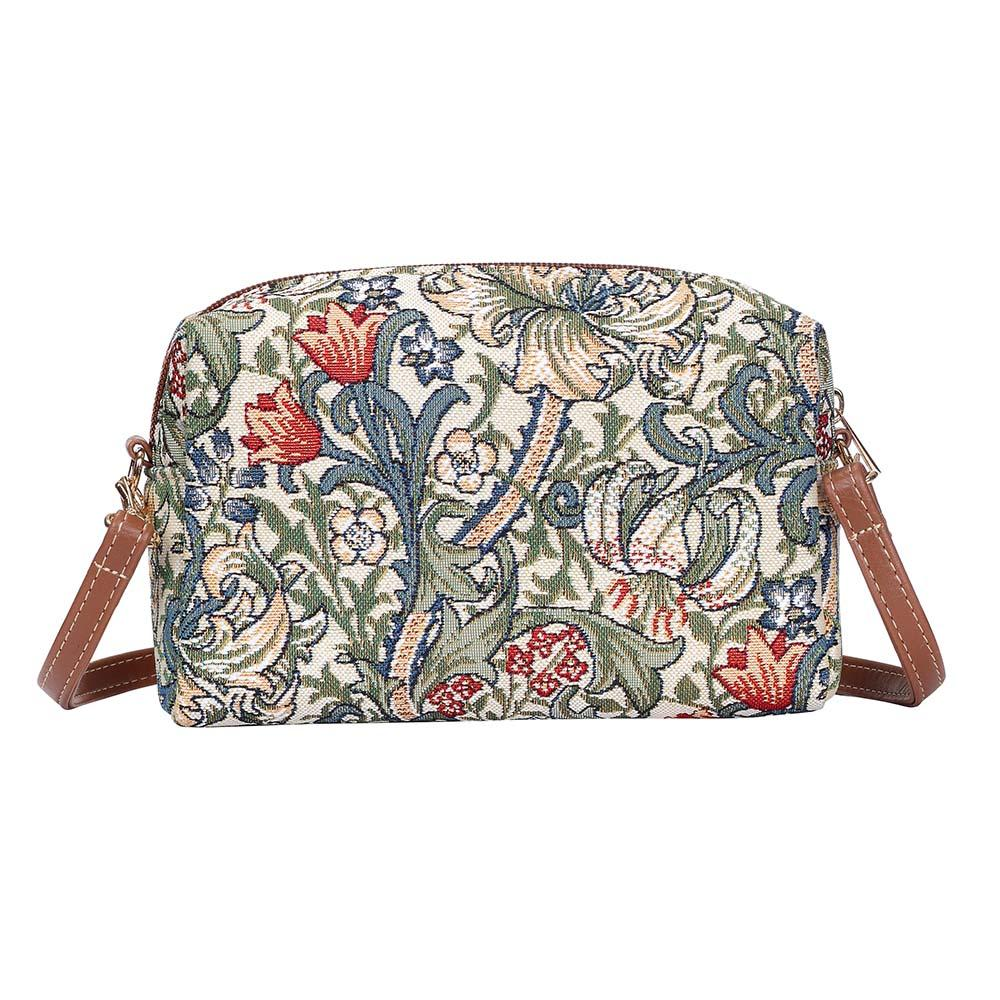 William Morris Golden Lily Hip Bag | Art Cross Shoulder Bag | HPBG-GLILY