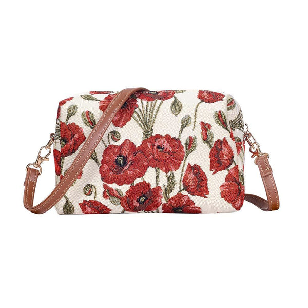 Poppy Hip Bag | Unique Stylish Unusual Shoulder Strap Handbag | HPBG-POP