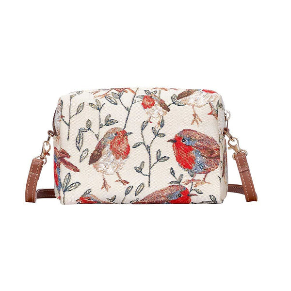 Robin Hip Bag | Stylish Shoulder Strap Unusual Tapestry Handbag | HPBG-ROB