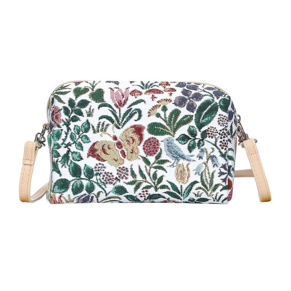 Spring Flowers Hip Bag | Branded Floral Unusual Shoulder Stylish Acrossbody Handbag | HPBG-SPFL