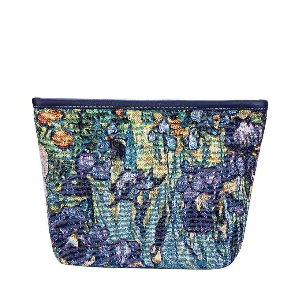 Vincent Van Gogh Artwork Art Makeup Bag | Eye Makeup Cosmetics Beauty Bag | Iris-MAKEUP-ART-VG-IRIS