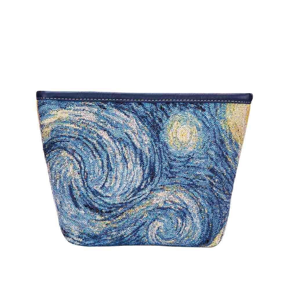 Vincent Van Gogh Artwork Art Makeup Bag | Beauty Bag | Starry Night Painting | MAKEUP-ART-VG-STAR