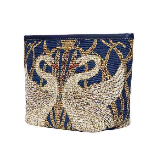Walter Crane Artist Art Makeup Bag | Cosmetics Compartment Makeup Case | Swan-MAKEUP-ART-WC-SWAN