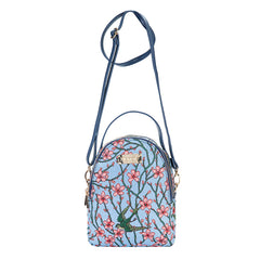 Almond Blossom and Swallow Mini Pack | Small Backpack for Women | MIPK-BLOS
