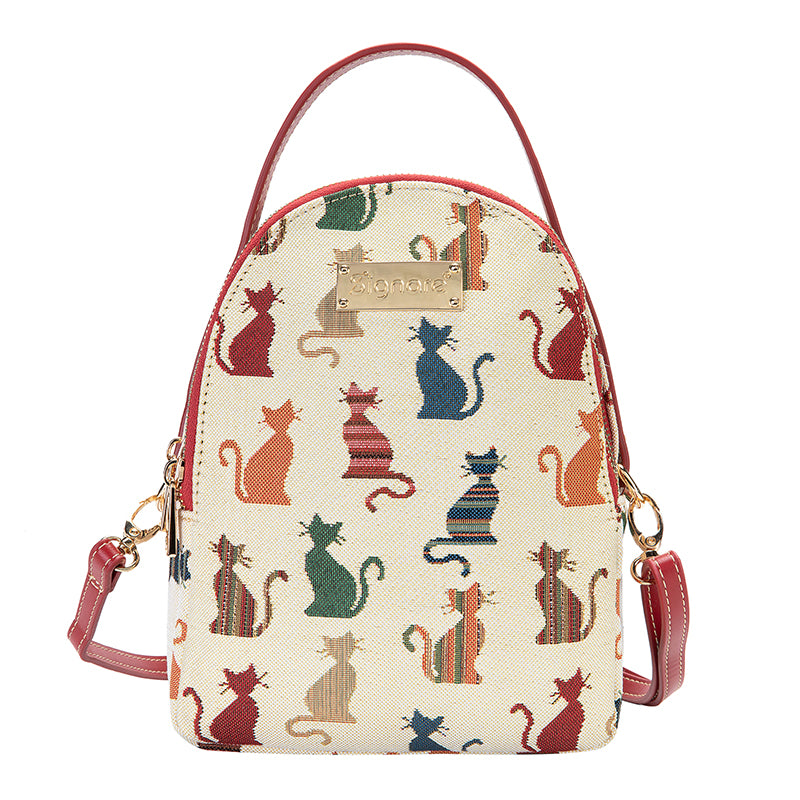 Cheeky Cat Mini Pack | Small Backpack for Women | MIPK-CHEKY