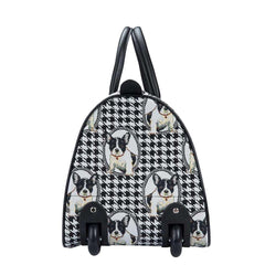 French Bulldog Puppies Pull Holdall | Tapestry Travel Luggage | PULL-FREN