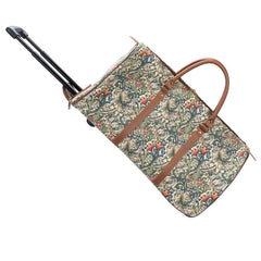 William Morris Art Golden Lily Pull Holdall | Tapestry Lightweight Holdall | PULL-GLILY