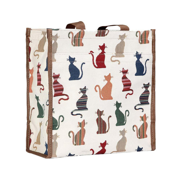 Cheeky Cat Shopper Bag | Tapestry Cute Shoulder Bags | SHOP-CHEKY