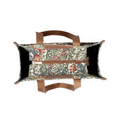 William Morris Golden Lily Shopper Bag | Tapestry Shoulder Bag | SHOP-GLILY