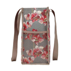Orchid Shopper Bag | Womens Branded Unique Shoulder Reusable Tapestry Cloth Tote | SHOP-ORC