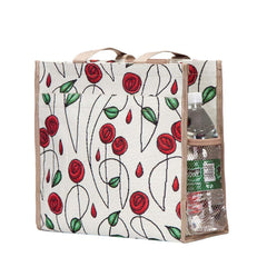 Mackintosh Rose Shopper Bag | Floral Tapestry Ladies Shoulder Bag | SHOP-RMSP