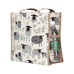 Spring Lamb Shopper Bag | Reusable Environmental Branded Unusual Tote | SHOP-SPLM