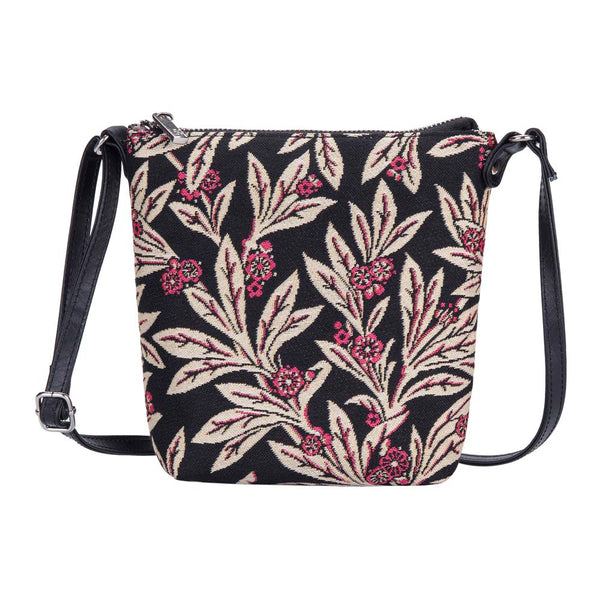 Golden Fern Sling Bag | Tapestry Floral Crossbody Bag | SLING-GFERN