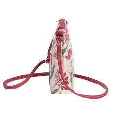 Marrel's Tulip White Sling Bag | Floral Crossbody Bag | SLING-JMTWT
