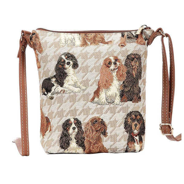 Cavalier Sling Bag | Cute Tapestry Ladies Cross Body Bag | SLING-KGCS