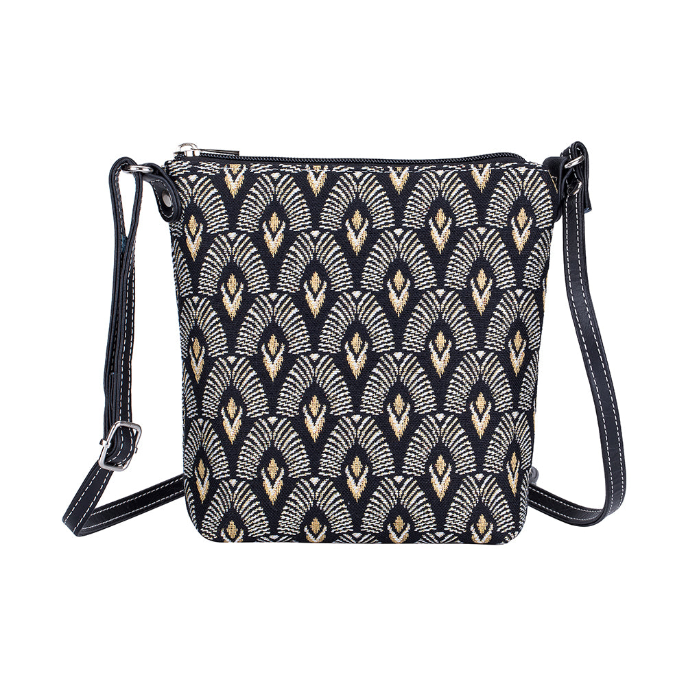 Luxor Sling Bag | Art Deco Crossbody Bag | SLING-LUXOR