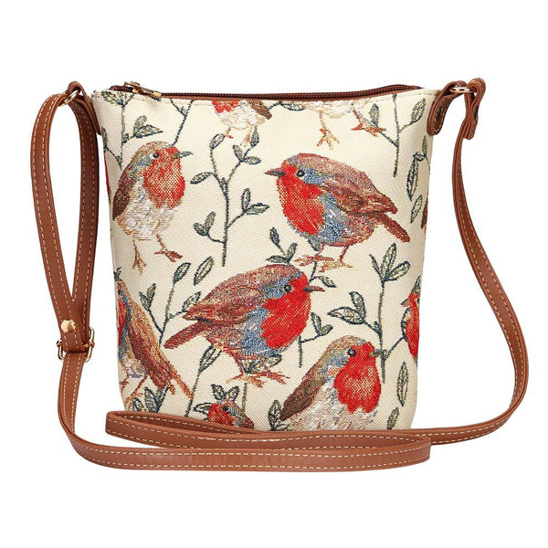 Robin Sling Bag | Fashionable Tapestry Shoulder Strap Handbag | SLING-ROB