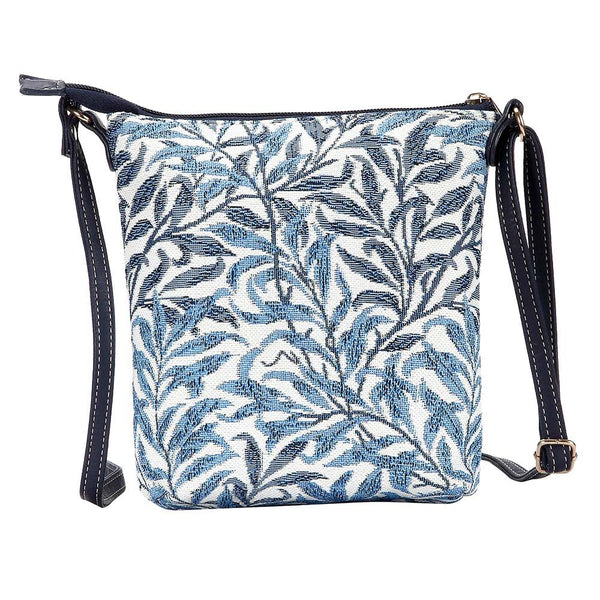 William Morris Willow Bough Sling Bag | Blue Tapestry Ladies Shoulder Bag | SLING-WIOW