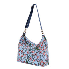 2021 S/S (New Arrival) Almond Blossom and Swallow Shoulder Slouch Bag | SLOU-BLOS