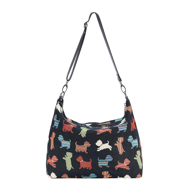 2021 S/S (New Arrival) Puppy Shoulder Slouch Bag | Cute Dog Shoulder Handbag | SLOU-PUPPY
