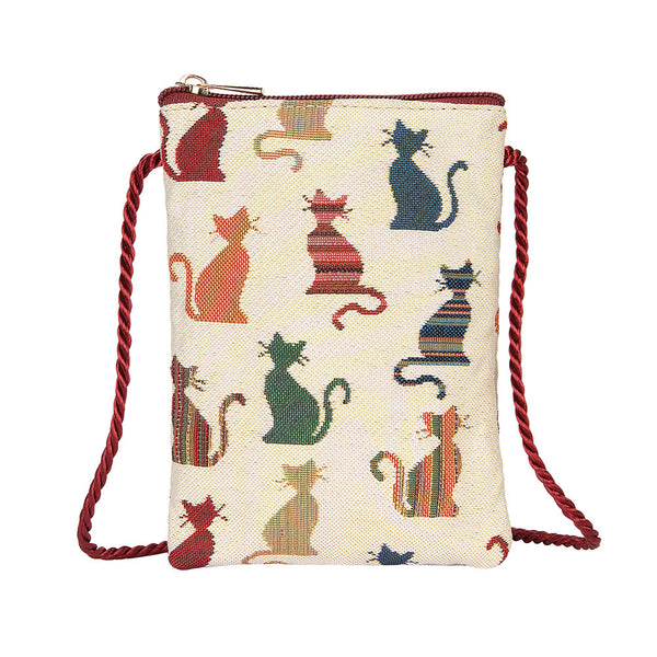 Cheeky Cat Smart Bag | Small Neck Pouch | SMART-CHEKY