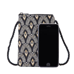 Luxor Smart Bag | Small Black Neck Pouch | SMART-LUXOR